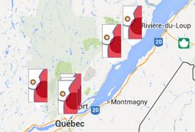 Carte des services régionaux